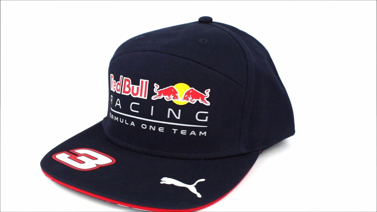 7240619163129 Gorra Plana Red Bull Racing Oficial 2017 Daniel Ricciardo - YouTube