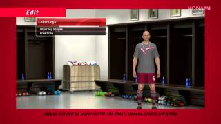 Pro Evolution Soccer 2014   Edit Mode Trailer   PS3 Xbox360 PC