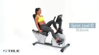 TRUE Workout Series - ES900 Recumbent Bike Workout