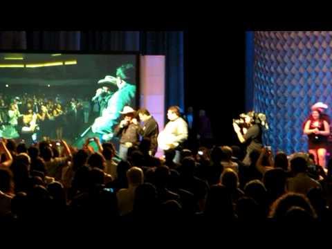 2010 Tejano Music Awards July 11 San Antonio Raulito Navaira  and Emilio surprise