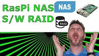 Raspberry PI NAS - Software RAID