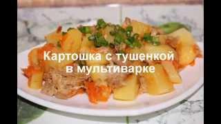 Картошка с тушенкой в мультиварке, рецепт тушенки из свинины с картофелем