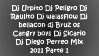 Dj bellacon Dj urpito DJ sicario Dj Raulito Dj Diego Dj Peligro Dj walasflow dj Bruz Perreo mix 2011