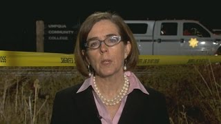 Oregon governor reacts to mass shooting