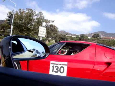 Heffner Lamborghini Gallardo Twin Turbo  Vs Ferrari Enzo