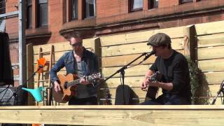 Chris Helme performing Love is the Law with Graeme