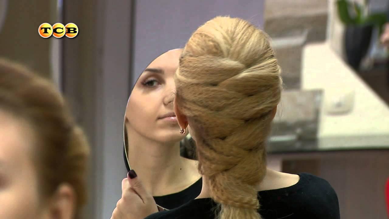 Прически с гофре на длинные волосы фото