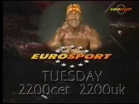 WWF Superstars on Eurosport Ad (1990)