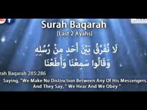 Surah Baqarah Last 2 VersesSheikh Ziyad PatelMemorizing Made Easy