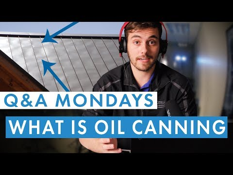 What is Oil Canning and How Does It Affect Metal Roofing?