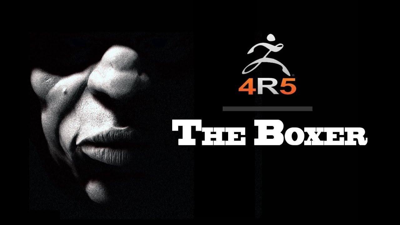 zbrush 4r5 speed modeling the boxer youtube