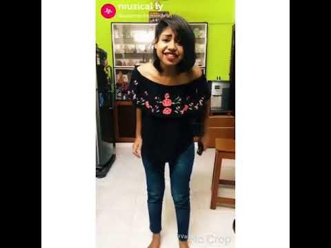 Tamil girl dubmash Romeo Juliet movie dialogue