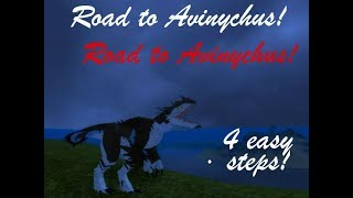 Road To Avi! 4 Easy Steps |ROBLOX Dinosaur Simulator|