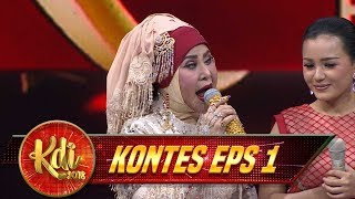 Waduh, Umi  Elvy Sukaesih Trauma Sama Ruben Dibilang Oma - Kontes KDI Eps 1(6/8)