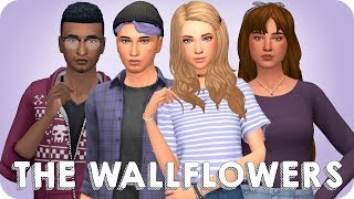 HIGH SCHOOL CLIQUES - THE WALLFLOWERS   Sims 4 Create A Sim