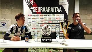 Liikennekoulu Rönn -pressi: VPS-FC Lahti (Mukana Veli Lammen ja Ville Koskimaan kommentit)