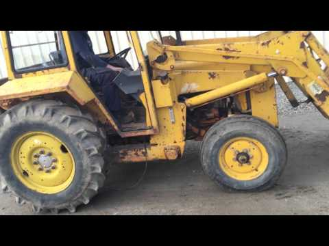 MASSEY FERGUSON 30E 2WD INDUSTRAIL TRACTOR - YouTube