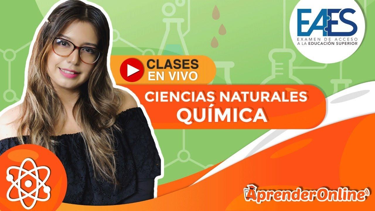 Examen de ingreso a la U - Resolviendo ejercicios | Ciencias Naturales - Química | 🔴 Live T1 #06