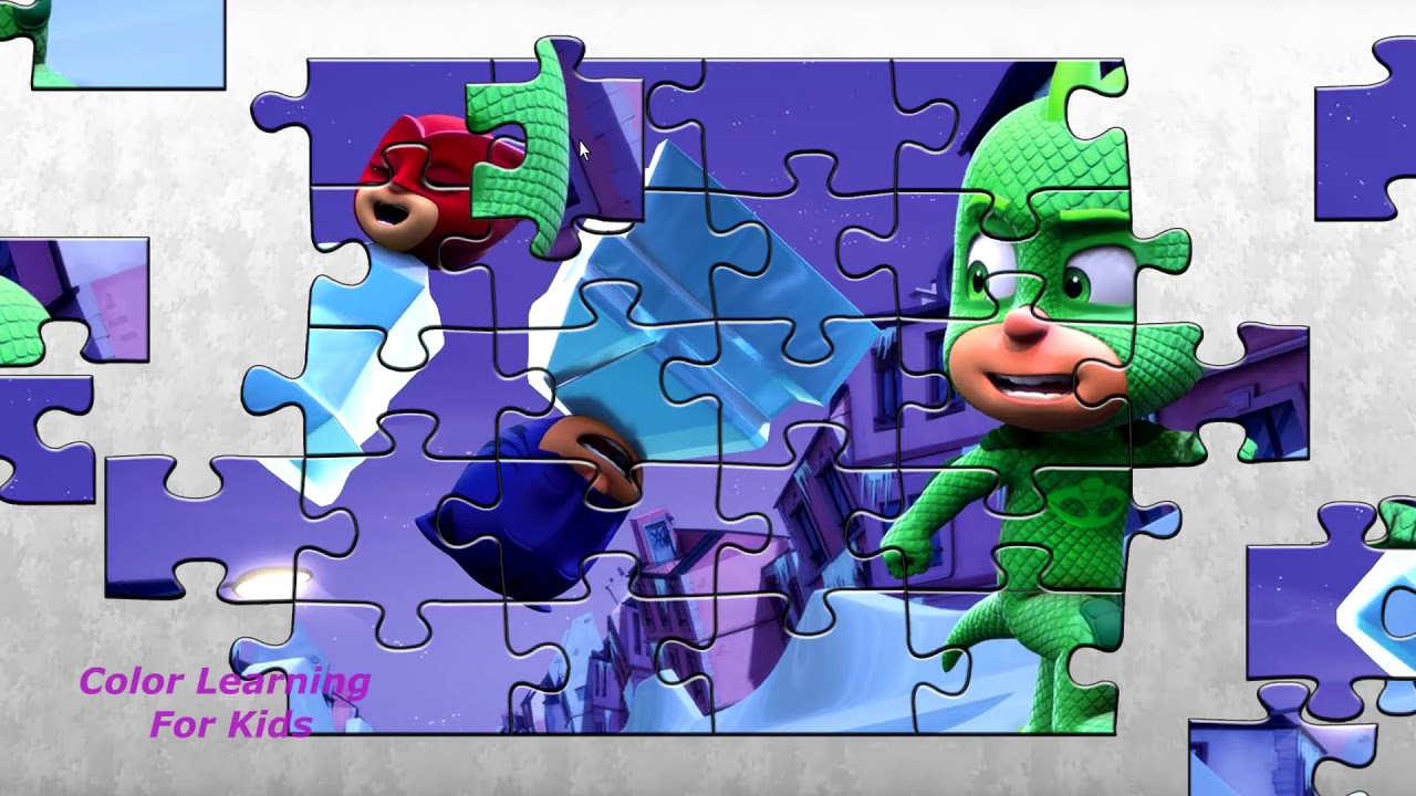 Pj Masks ⚡ GEKKO'S NICE ICE PLAN ⚡ Puzzle Game for Little Kids