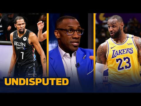 Kevin Durant is favorite to win MVP while LeBron ranks 7th — Skip & Shannon | NBA | UNDISPUTED