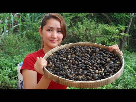 Yummy Freshwater Clam Spicy Stir Fried – Freshwater Clam Stir Fried Cooking – Cooking With Sros