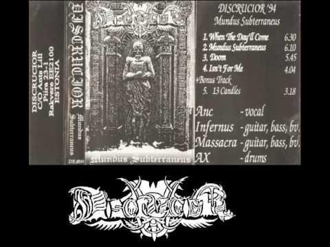 DISCRUCIOR (estonia) ´´mundus subterraneus´´ (demo 1994)