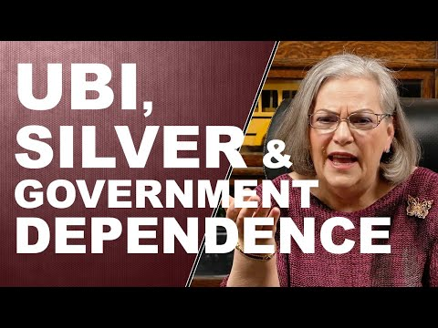 UBI, SILVER & GOVERNMENT DEPENDENCE...Q&A WITH LYNETTE ZANG