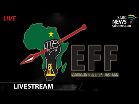 EFF holding a press briefing on the latest developments in the country