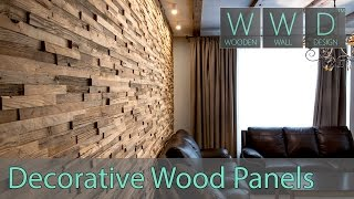 Reclaimed Wood Panels For Wall Covering. Type: A Priori