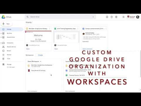 Google Drive Workspaces: Access files more easily with custom file collections (Work/School Only)