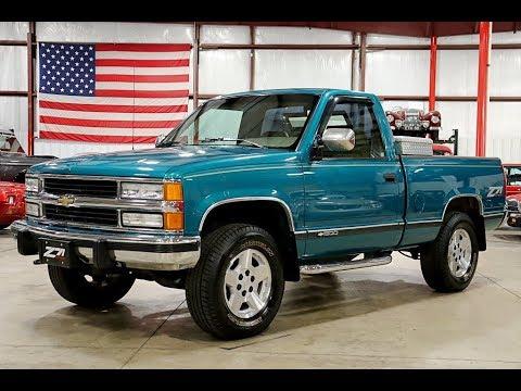 1994 Chevy Silverado Z71 Teal - YouTube