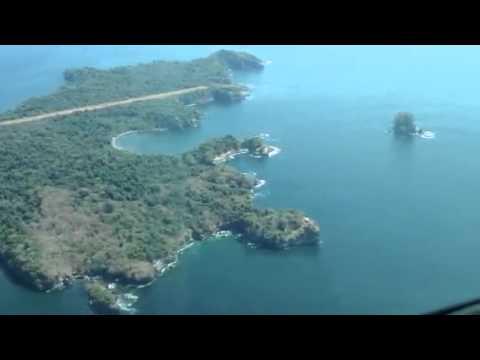 Before landing Isla San Jose