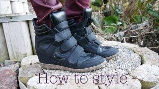 How to Style: Wedge Sneakers (Lookbook) & Giveaway Winner!