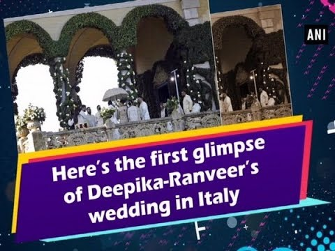 Here's the first glimpse of Deepika-Ranveer's wedding in Italy Mp3