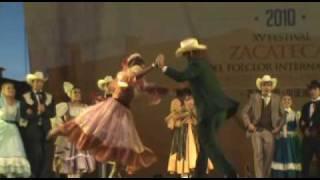 Chihuahua: Clausura del XV festival del Folclor Internacional Zacatecas 2010