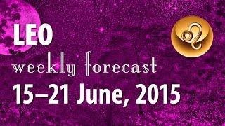 Leo, 15–21 June 2015, weekly Tarot forecast