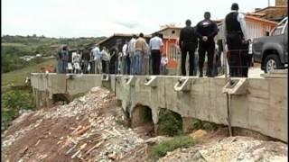 Pérez Vivas inaugura Muro de Contención en Tucapé Táchira