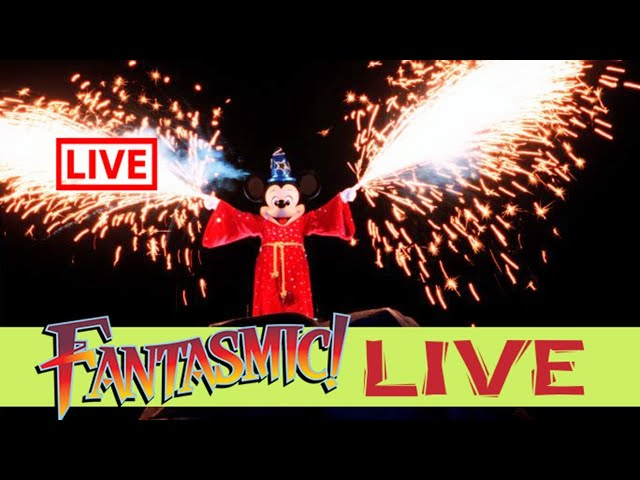 LIVE: Fantasmic Nighttime Spectacular At Disney's Hollywood Studios - Walt Disney World Live Stream