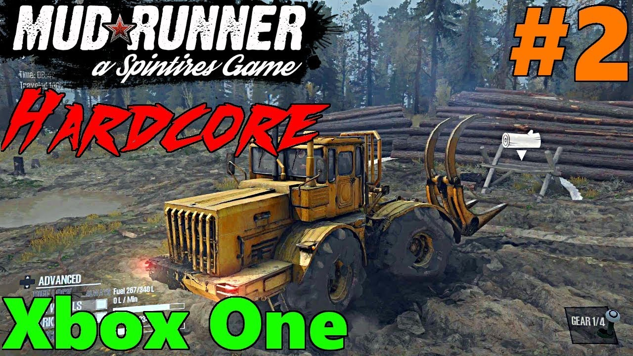 spintires mud runner xbox one hardcore mode let 39 s play. Black Bedroom Furniture Sets. Home Design Ideas