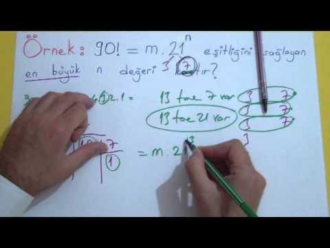 Faktöriyel Şenol Hoca Matematik