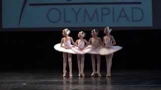 Танец маленьких лебедей Чайковский  Олимпиада танца Рига 2015