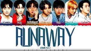 EXO - 'RUNAWAY' Lyrics [Color Coded_Han_Rom_Eng]