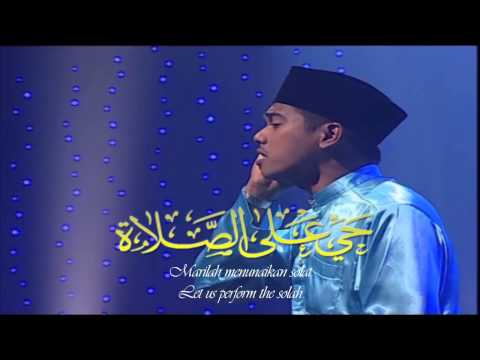 Azan - Imam Muda Nuri (Astro Oasis)