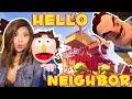 OUR CREEPY NEIGHBOUR HAS A NEW HOUSE! - Hello Neighbor Alpha 4