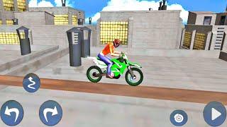 Ramp Bike Impossible Bike Racing Stunt Game to play | Bike 3D Games | Bike Games #40