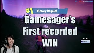 Aggressive gameplay. Fortnite Battle Royal win. My first Recorded win.