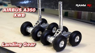 Making the main landing gear/ AIRBUS A350 XWB
