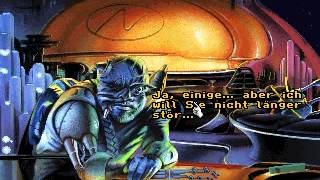 PC DOS Protostar: War on the Frontier (Starflight 3: Protostar) Intro & Gameplay German (English)