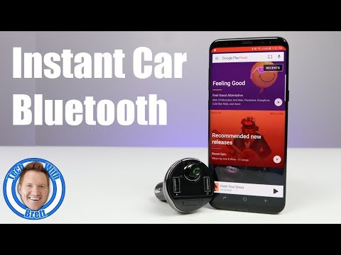 Fast Install Car Bluetooth Audio & Hands Free Calling