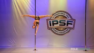 Camile Saibert - IPSF World Pole Championships 2018